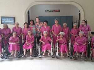 Visit to women retirement home in Sawangan-Depok
