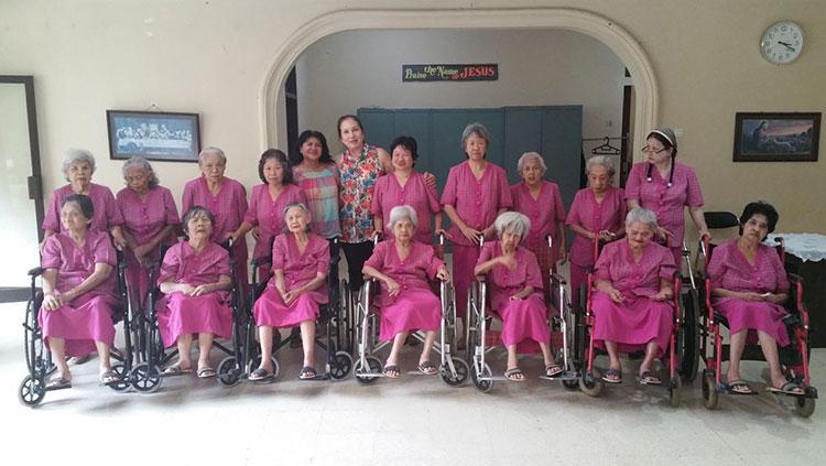 foto van bejaardenhuis Wisma Kasih Agape