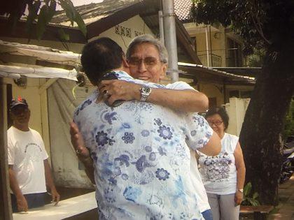 Dos hermanos ven mutuamente después de 68 años